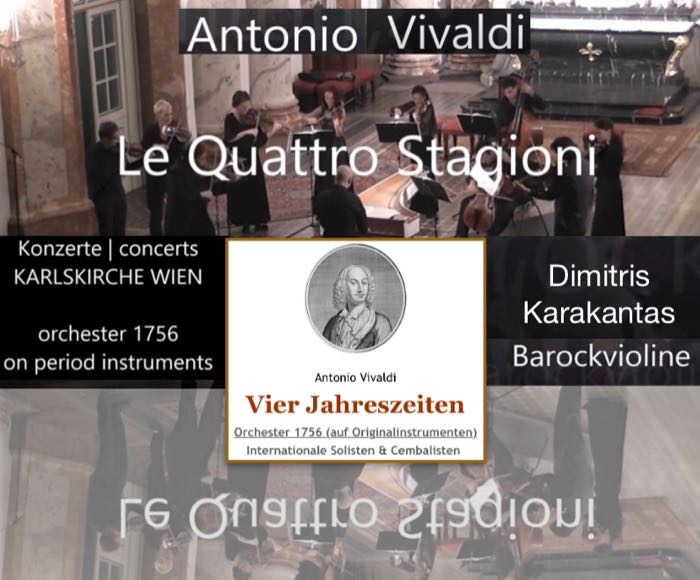 St. Charles Church was finished in 1737. Four years later, on July 28th, 1741, Venetian composer Antonio Vivaldi died in Vienna. The Orchestra 1756 was founded in Salzburg in the year 2006