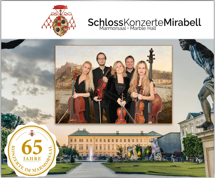 Ensemble Altenau - Welcome to the Palace where Mozart  used to play his timeless pieces. The Baroque Marble Hall of Mirabell Palace is considered to be one of the most beautiful and historically significant concert halls in Austria.