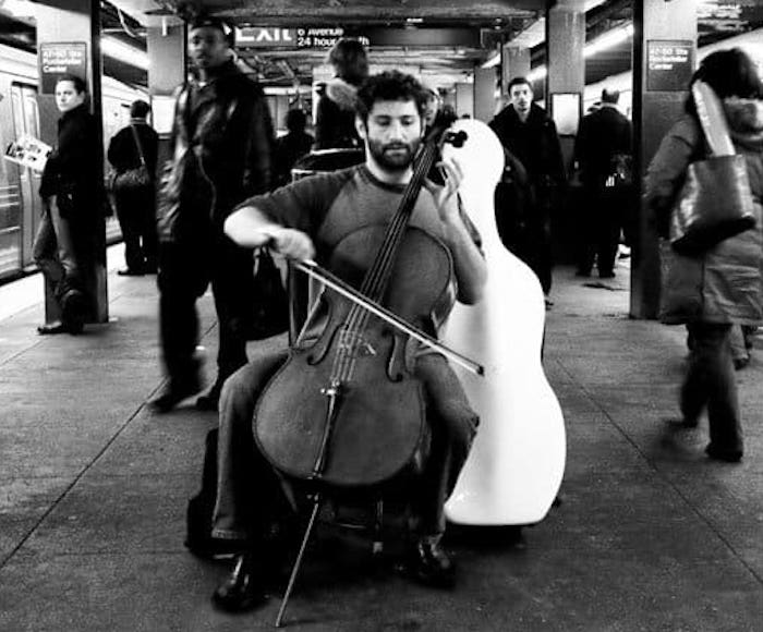 FREE CONCERT in collaboration with Bach in the Subways. Special Guests Baccaro Tour Ensemble - Music by J.S. Bach: Suite in C major for cello only BWV 1009,  BWV 1013 minor match for flute only,  Concerto in d BWV 596 for organ