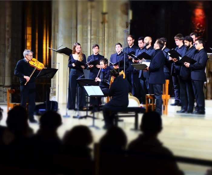 Ensemble vocal de Notre-Dame de Paris - Sylvain Dieudonné, conducting