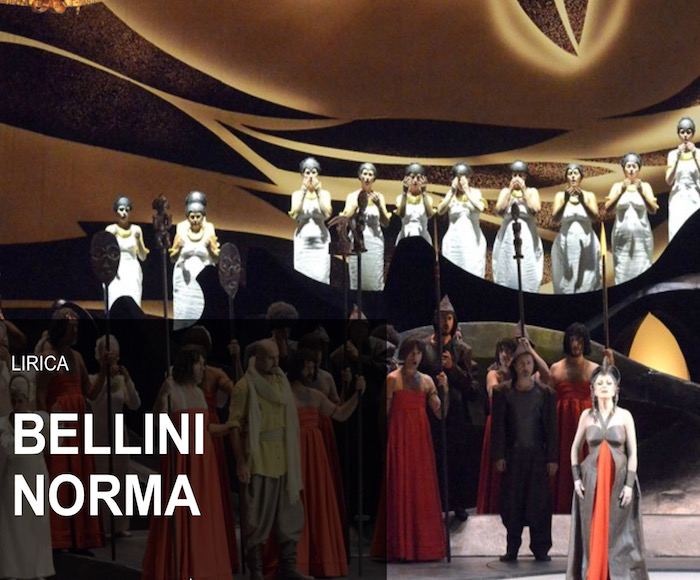 NORMA: MARIELLA DEVIA - With these three last representations of Bellini's opera NORMA, the famous Soprano Mariella Devia will officially bid farewell to the scenes, limiting her professional activity to concert performances and teaching.