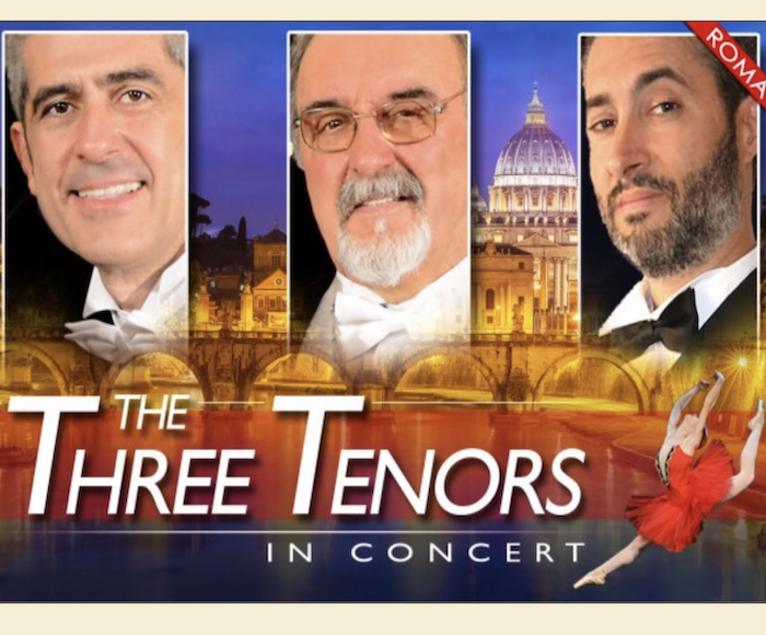 The only Three Tenors in Rome accompanied by the Mandolin Orchestra of the Neapolitan Mandolin Academy, will make you spend an unforgettable evening under the highest expression of Neapolitan lyric and traditional music.