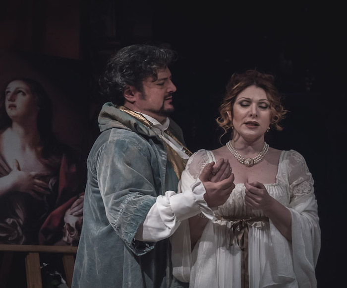 This is the dramatic story depicting the love of the painter Cavaradossi for Floria Tosca, a famous singer.