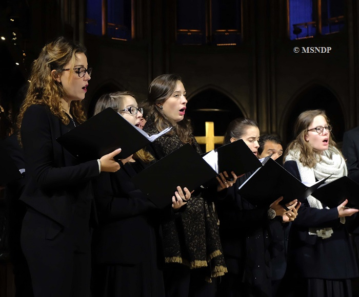The art of polyphony at Notre-Dame - Gregorian Chant and Medieval music - Maîtrise Notre-Dame de Paris, Adult Choir - Sylvain Dieudonné, direction