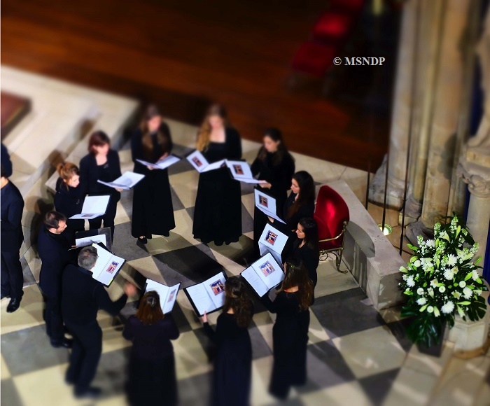 The Three Mary - Gregorian Chant and Medieval music - Ensemble Vocal Notre-Dame de Paris - Sylvain Dieudonné, condutor