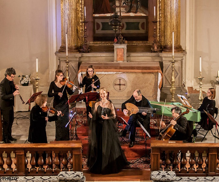 Dialogue between True Discipline and the Genius - Festa da Camera a 2 voci - First performance in modern times - Venetia Antiqua - Sopran: Liesl Odenweller - Alto: Lisa Dunk (Transcript and review by Carlo Steno Rossi)