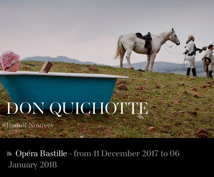Inspired by the choreography of Marius Petipa, Rudolf Nureyev's Don Quixote is a veritable festival of dance, displaying the excellence of the soloists and the Corps de Ballet in a wide variety of ensembles and pas de deux.