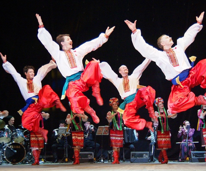 Great show of Cossacks acrobatic and folk dances- Live music performed by the Ballet Orchestra - After the show, toast midnight in the foyer and in the Theater