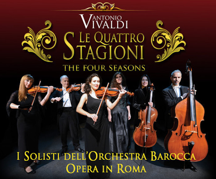 "Journey back to the 18th century with the ""Opera in Roma"" Baroque Orchestra.  The ""Opera in Roma"" Baroque Orchestra and accomplished soloists perform in Church of Saint Paul Within the Walls in Rome."