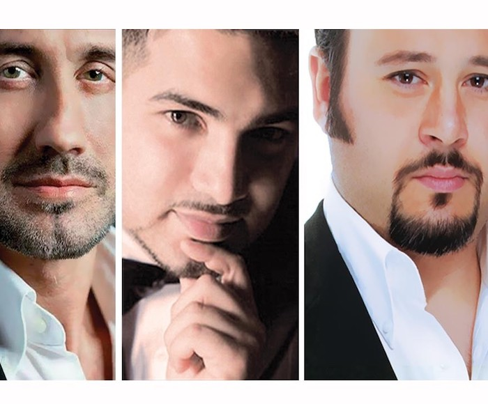 THE THREE TENORS: OPERA ARIAS, NAPLES AND SONGS - Inspired by the popular Three Tenors in Concert,