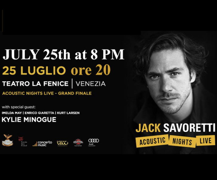 JACK SAVORETTI, ACOUSTIC NIGHTS LIVE