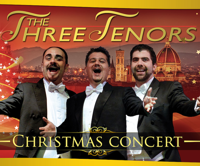 CHRISTMAS CONCERT WITH THE THREE TENORS