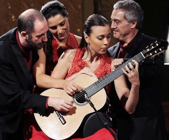 Manuel González, Xavier Coll, Ekaterina Zaytseva, Belisana Ruiz. A show that combines perfectly a high quality music with touches of humor