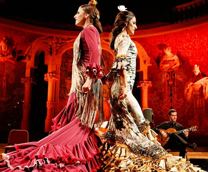 Flamenco dance, music and singing